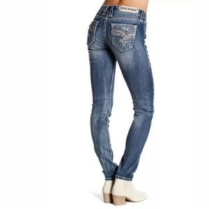 Rock Revival Womens Easy Skinny Jeans 31 32 33 34